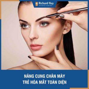 Tìm hiểu kĩ thuật Nâng cung chân mày cùng Dr Richard Huy - Trẻ hoá mắt toàn diện