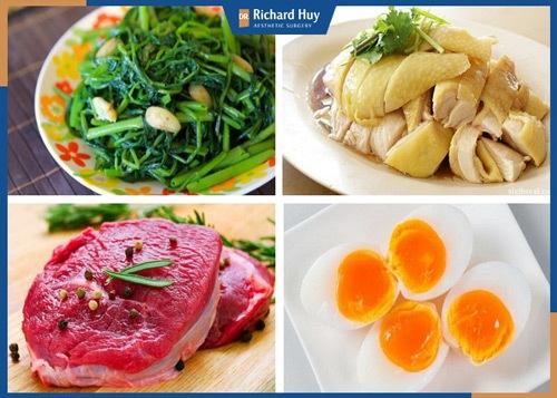 Chế độ ăn uống sao cho đúng sau phẫu thuật căng da cổ?