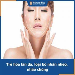 Căng da mặt Dr.Richard Huy - Trẻ hóa làn da để mãi là cô gái đôi mươi