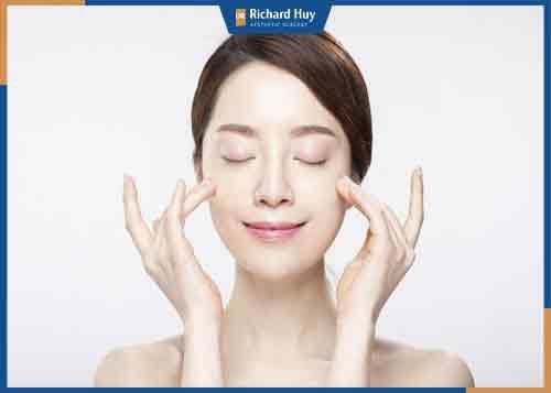 Làn da có sức sống hơn sau khi tiến hành cấy mỡ