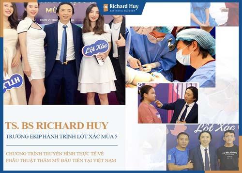 Bác sĩ Richard Huy đồng hành cùng chương trình hành trình lột xác