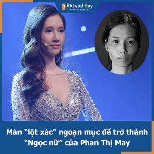 """Phan Thị May và hành trình """"lột xác"""" đầy ngoạn mục để trở thành """"Ngọc nữ"""""""
