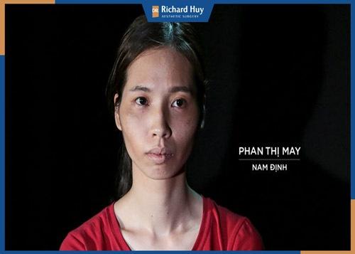 Phan Thị May cùng hoàn cảnh gia đình đầy khó khăn