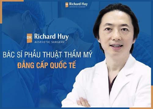 Bác sĩ Richard Huy chuyên gia ngành thẩm mỹ