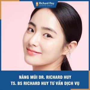 Nâng mũi Dr. Richard Huy - Ts. Bs Richard Huy tư vấn dịch vụ