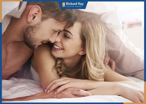 Vòng 1 to tròn làm tăng nhu cầu ham muốn tình dục, chất lượng cuộc yêu được thăng hoa