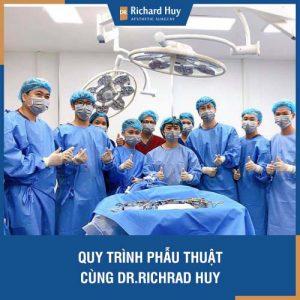 Quy trình phẫu thuật khép kín cùng Dr. Richard Huy