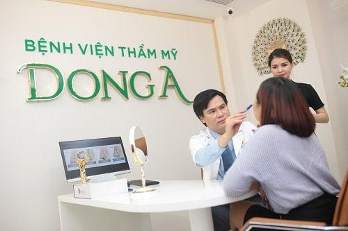 Thẩm mỹ viện Đông Á với nhiều chất lượng dịch vụ hài lòng khách hàng