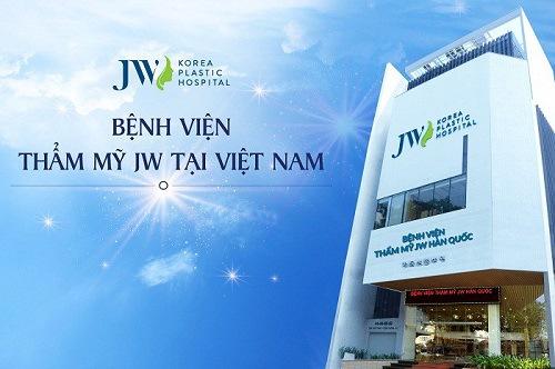 Bệnh viện thẩm mỹ JW cũng là một trong những lựa chọn tuyệt vời để độn cằm