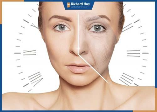 Botox cải thiện tình trạng lão hóa ở da nhanh chóng