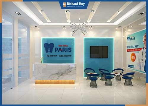 Nha khoa Paris là thương hiệu chuyên hoạt động về lĩnh vực răng hàm mặt với độ uy tín cao