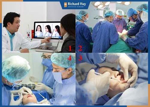 Quy trình phẫu thuật được công khai minh bạch