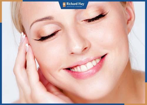 Khoảng 3 - 7 ngày sau khi tiêm, bạn sẽ nhận thấy gương mặt có những sự thay đổi đáng kể.