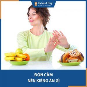 Những thực phẩm tuyệt đối không ăn sau độn cằm - Lưu ý cần thiết chăm hậu phẫu.