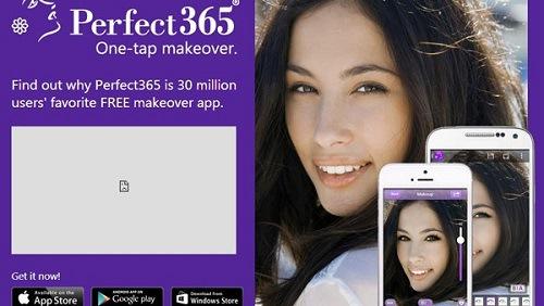 Ứng dụng hoàn hảo này cho phép chỉnh sửa toàn diện gương mặt, trang điểm nhanh chóng chỉ trong vòng 1 nốt nhạc.