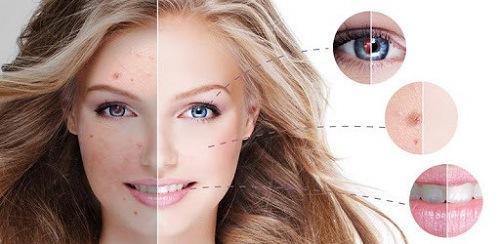 Ứng dụng Visage Lab giúp gương mặt trở nên hấp dẫn nhờ các tính năng xóa mụn, che khuyết điểm,
