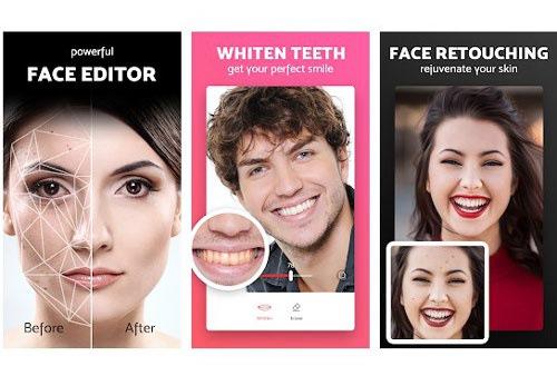 PicBeauty cho phép người dùng thoải mái chỉnh sửa mọi chi tiết trên gương mặt một các dễ dàng