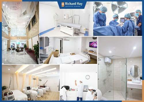 Trang thiết bị hiện đại giúp quá trình phẫu thuật được dễ dàng và chính xác