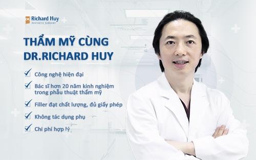 Thẩm mỹ tại Dr.Richar Huy sẽ mang lại sự an toàn và kết quả tuyệt vời cho bạn