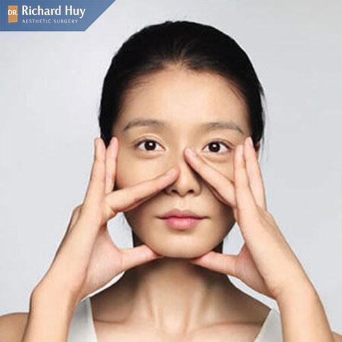 Bài tập gọn cánh mũi và nâng cao mũi