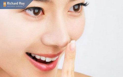Bài tập đẩy mũi thẳng tạo mũi cao tự nhiên