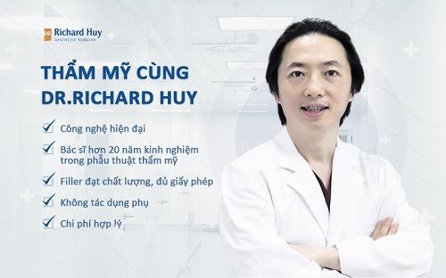 Tiêm Filler cằm an toàn cùng Dr. Richard Huy