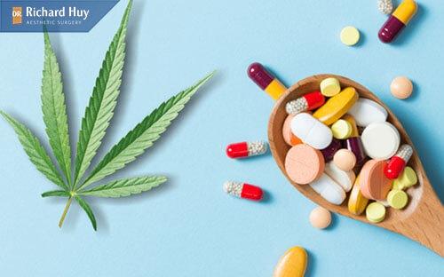 Sử dụng thuốc kháng sinh để giảm đau