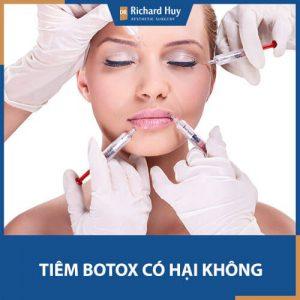 Giải đáp từ a-z tác hại của tiêm Botox chắc chắn bạn phải biết