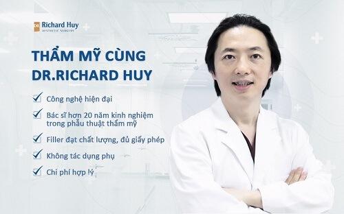 Tiêm cằm không lo nguy hiểm cùng Dr.Richard Huy
