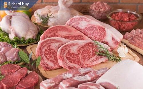 Kiêng thịt bò và thịt gà gây ngứa ngáy vết thương