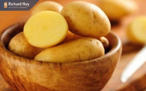 Trẻ hóa da với khoai tây